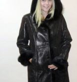 metallic-brown-shearling-coat